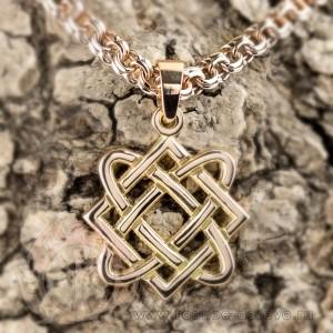 Звезда Лады-богородицы из золота